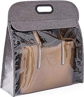 BCGT Vêtements Sac de Rangement Poches Sacs à Main Organisateur Tissu Non tissé Clear Purs Sac à Main Sac à Main Sac de Ra...