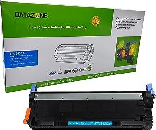 تونر ليزر CYAN من داتازون DZ-9731A، 645A متوافق مع طابعات HP Color LaserJet 5500/550؛ Canon Image Class C3500/LBP-2710/281...