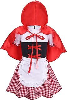 color rojo M-L 5945 Atosa-5945 Disfraz Caperucita
