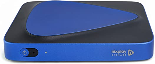 Nixplay Signage Player - Digital Signage TV Media Player. Turn Any HDMI Enabled Monitor into a Digital Signage Display