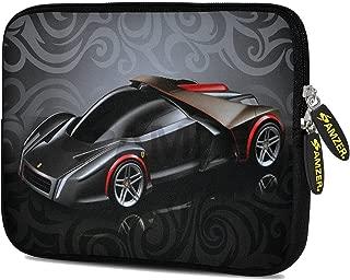 Amzer 7.75-Inch Designer Neoprene Sleeve Case Cover for Tablet, eBook, Netbook - Racer Swirl (AMZ5073077)