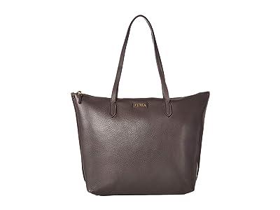 Furla Luce Large Tote (Asfalto) Tote Handbags