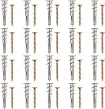 Baluue 20Pcs Zinklegering Zelfborende Gipsplaten Muur Met Schroeven Voor Opknoping Board Hanger Levert