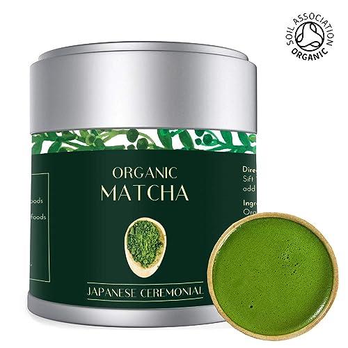 Té Verde Matcha - Orgánico 30g | Premio Ceremonial Japonés | Bio ...