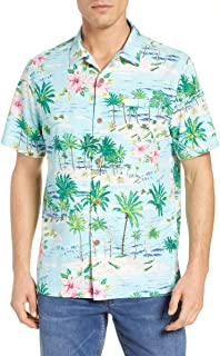 Tommy Bahama Island Zone Aloha Surf Silk Blend Camp Shirt