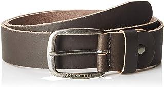 حزام جاكبول نووس جلدي للرجال من جاك اند جونز، بني، 105