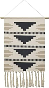 Macrame Woven Wall Tapestry Hanging Art, 19.7