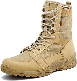 último diseño fábrica forma elegante Amazon.es: Beige - Botas de servicio militar / Calzado de ...