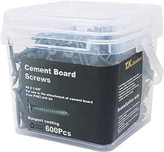 Best 1 cement board screws Reviews