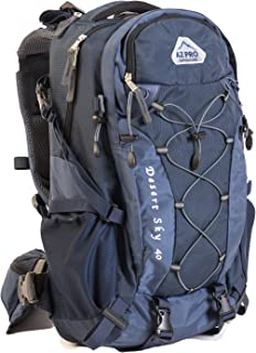 Desert Sky from AZ Pro Outdoors 3-Way Backpack Series 40L Easily Converts to the Most Versatile Backpack Hiking Day Pack, ...