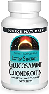 SOURCE NATURALS Glucosamine Chondroitin Extra Strength Tablet, 60 Count