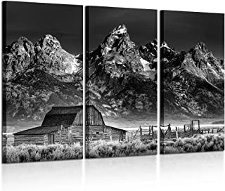 Best black and white barn prints Reviews