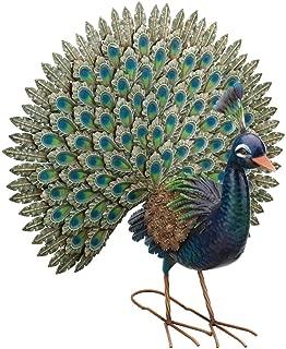 Regal Art & Gift 12022 Peacock, Pride Statue, Blue Multi