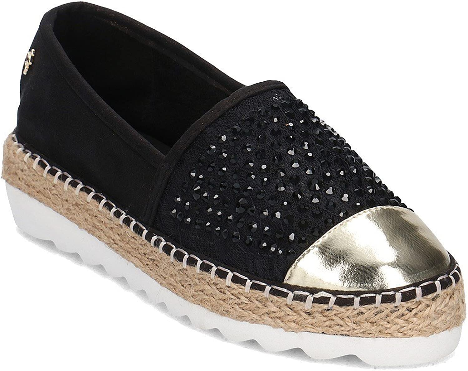 Menbur 07995 shoes Espadrilles Woman Black