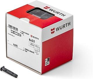 Würth Kunststof multifunctionele pluggen Shark Pro 6X35 mm Shark, inhoud verpakking: 200 stuks