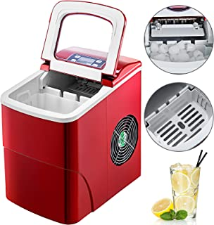 VBENLEM 26LBS/24H Portable Ice Making Machine Countertop Bullet Ice Maker with Control Panel Ice Scoop Great for Home Kitchen Bars Parties Commercial Use