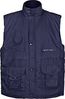 Fortress Mens Body Warmers Windproof Quilted Winter Warm Bodywarmer Big Sizes 2XL 3XL 4XL 4XL 6XL King Size Large Sizes