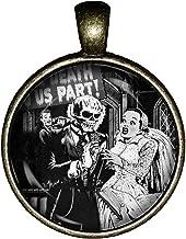 Till death do us part necklace Valentine's Day handmade pendant charm