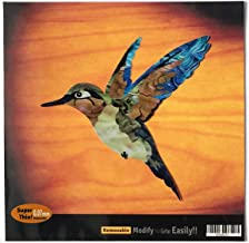 Inlay Sticker Decal For Guitar Bass In Abalone Theme - Humming Bird II