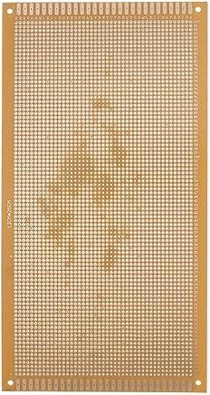 Universal circuito tablero - TOOGOO(R) 13 cm x 25 cm rectangular placa perforada