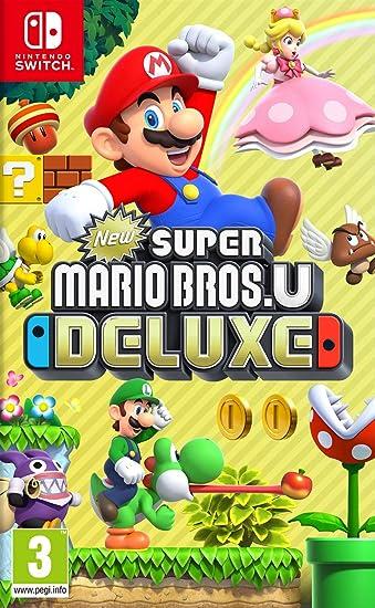 Amazon.nl-New Super Mario Bros. U Deluxe - NL versie (Nintendo Switch)-aanbieding