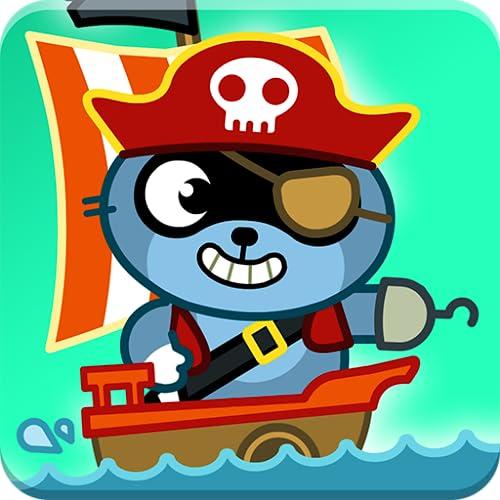Pango Pirata : jogo de aventura e caça ao tesouro para crianças 3-8