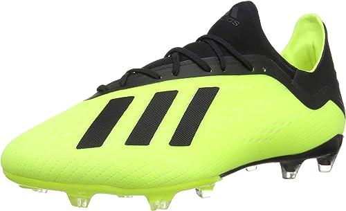 Adidas Adidas X 18.2 FG, Chaussures de Football Homme  économiser 35% - 70% de réduction