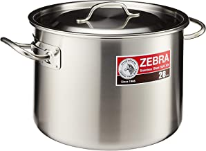 Zebra 171128 Stainless Steel Casserole, 28cm, 12L