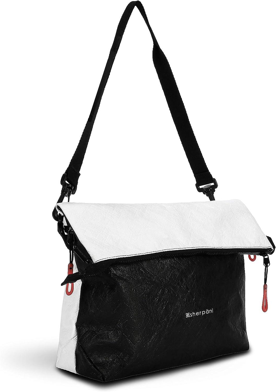 Sherpani Vale, Tyvek Crossbody Bag, Ultralight Tote Bag, Casual Shoulder Bag, Purse Handbag, Crossbody Purse for Women