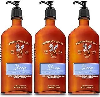 Lot of 3 Bath & Body Works Aromatherapy Lavender Vanilla Body Lotion (Lavender Vanilla)
