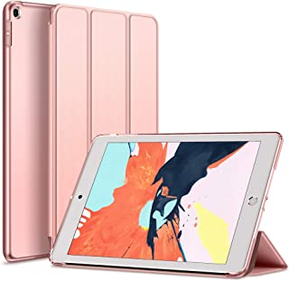Kenke 9.7 inch iPad Case 2017/2018, iPad Smart Cover with Magnetic Auto Sleep/Wake for iPad 5th/ 6th Generation (Rose Gold)