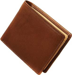 [BlissLeather] [一流の栃木レザー]高級 財布 二つ折り 大容量 YKKファスナー