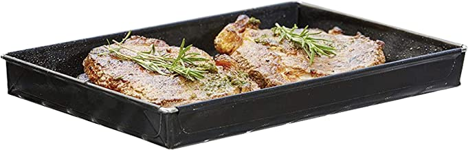 Durandal Auflaufform Alternative für den Backofen | Ofenform für nahezu alle Öfen geeignet | Ideal geeignet zum Garen und Backen | Grill Zubehör Grillshale 1,5 L