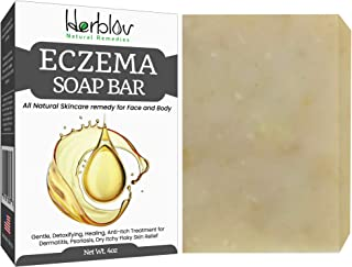 Sponsored Ad - Eczema Soap Bar for Face and Body – All Natural Dermatitis, Psoriasis Treatment for Dry Itchy Flaky Skin Re...