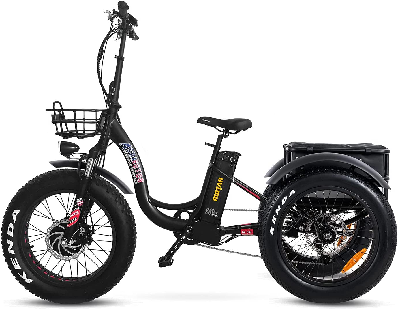 Addmotor Gorgeous Motan 3 Wheel Electric Ebike Adults Cruiser Complete Free Shipping Bicycle 75