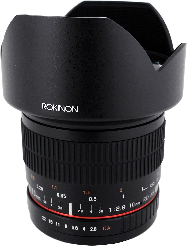 Rokinon 10 Mm F2 8 Ed As Ncs Cs Ultra Wide Angle Lens Camera Photo