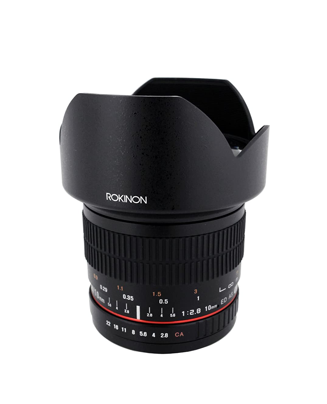 Rokinon 10mm F2.8 ED AS NCS CS Ultra Wide Angle Lens for Olympus and Panasonic Micro 4/3 (MFT) Mount Digital Cameras  (10M-MFT)