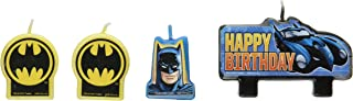 Amscan Batman Birthday Candle Set - 171386, Multi Color