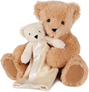 Vermont Teddy Bear and Blanket - Teddy Bears for Babies, 13 Inch