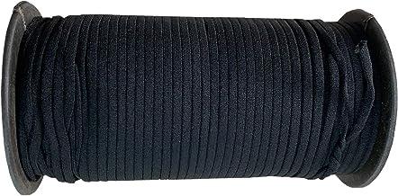 Trimming Shop 5 mm breed zacht elastisch koord, plat elastisch elastiek voor het maken van kleding, breien, doe-het-zelf k...
