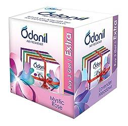 Odonil Bathroom Air Freshener Blocks – 50 g (Pack of 4)