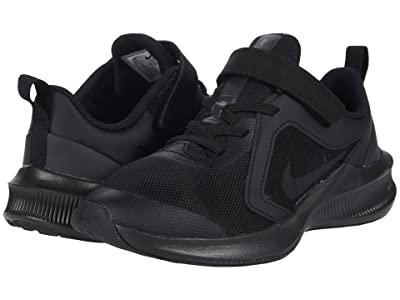 Nike Kids Downshifter 10 (Little Kid) (Black/Black/Anthracite) Kid