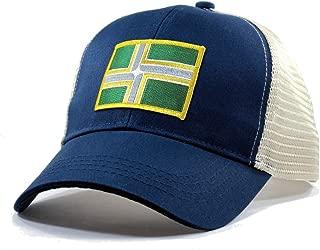 Homeland Tees Men's Portland Flag Patch Trucker Hat
