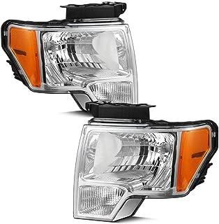 2011 ford f150 black headlights
