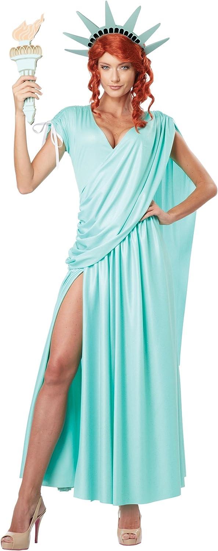 Luxury Lady Liberty Plus Detroit Mall Costume Size