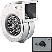 Ventilador 730m3/h con 500W Regulador de Velocidat Ventilación Extractor Ventiladores centrifugo