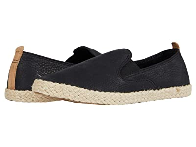 Sperry Sailor Twin Gore Leather/Jute (Black) Women