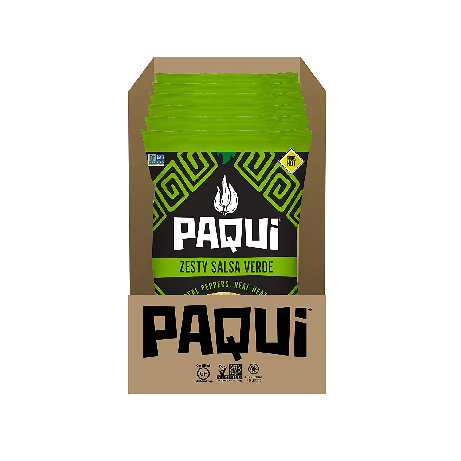 Super beauty product restock quality top! Paqui Zesty Salsa Verde Spicy 2oz Individua Chips We OFFer at cheap prices Tortilla 6ct