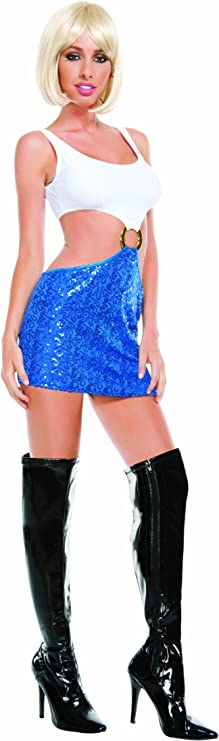80s Costumes, 80s Clothing Ideas- Girls Starline Womens Hollywood Honey Costume  AT vintagedancer.com