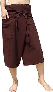 Raan Pah Muang Brand Yeaphai 纯棉泰国渔夫七分裤裹身裤